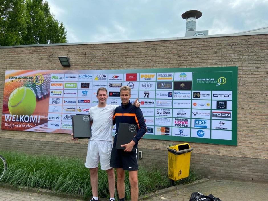 HDC   1 J.P. Huveneers - M. v.d. Steenhoven            2 J. de Groot - J. Verweij